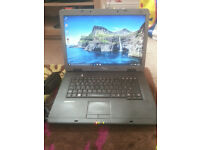 "for sale 15 4"" widescreen laptop with changer £30"