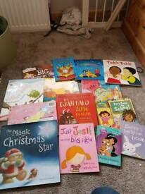 Job lot of kids books