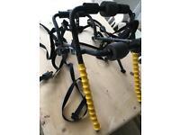 Universal bike rack carrier