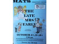 "HATS Theatre Group presents ""The Late Mrs Early"" a comedy by Norman Robbins"