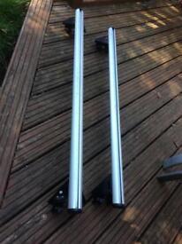 Genuine Vauxhall roof bars / racks