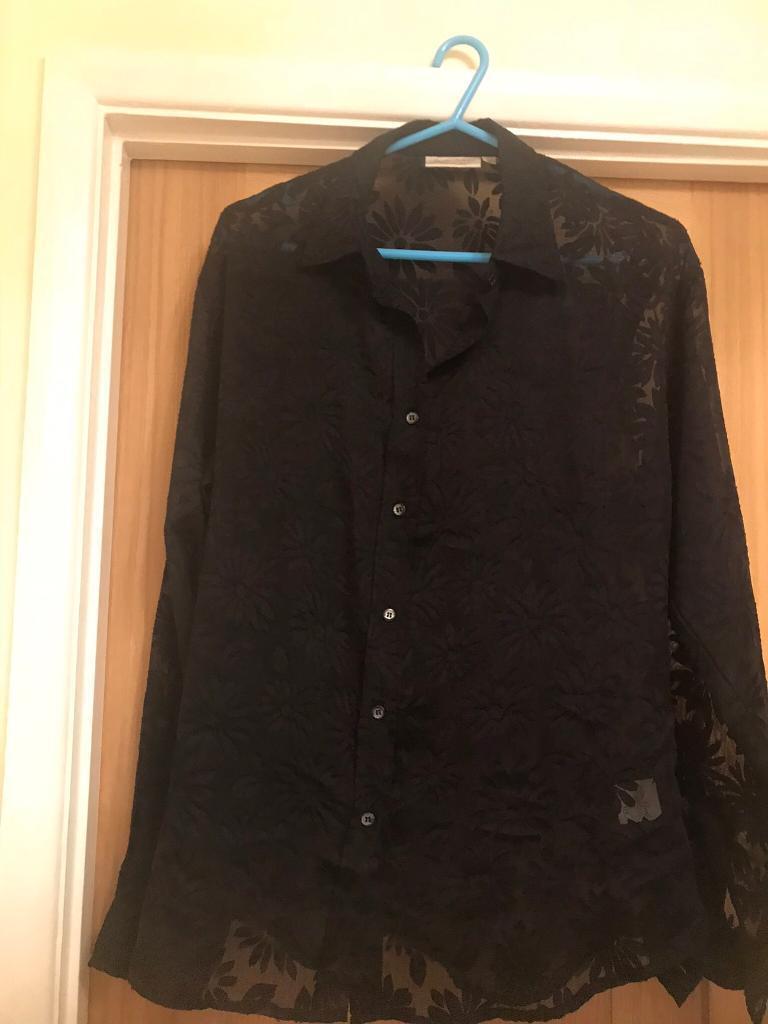 91837b96 Black blouse size 18 | in Llanedeyrn, Cardiff | Gumtree