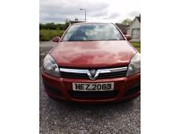 2006 Vauxhall Astra Life 1400 petrol