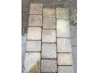 Approximately 20 square meters of cobble style block paving