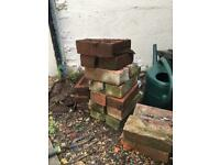 Red bricks (used) - FREE to whoever can collect