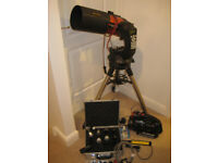 Celestron NexStar 5SE telescope with accessories