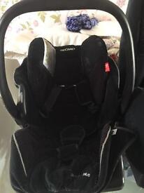 Recaro baby seat no isofix fixture