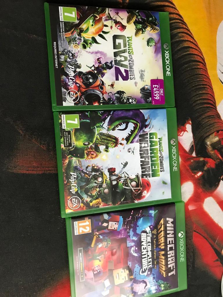 3 x Xbox games