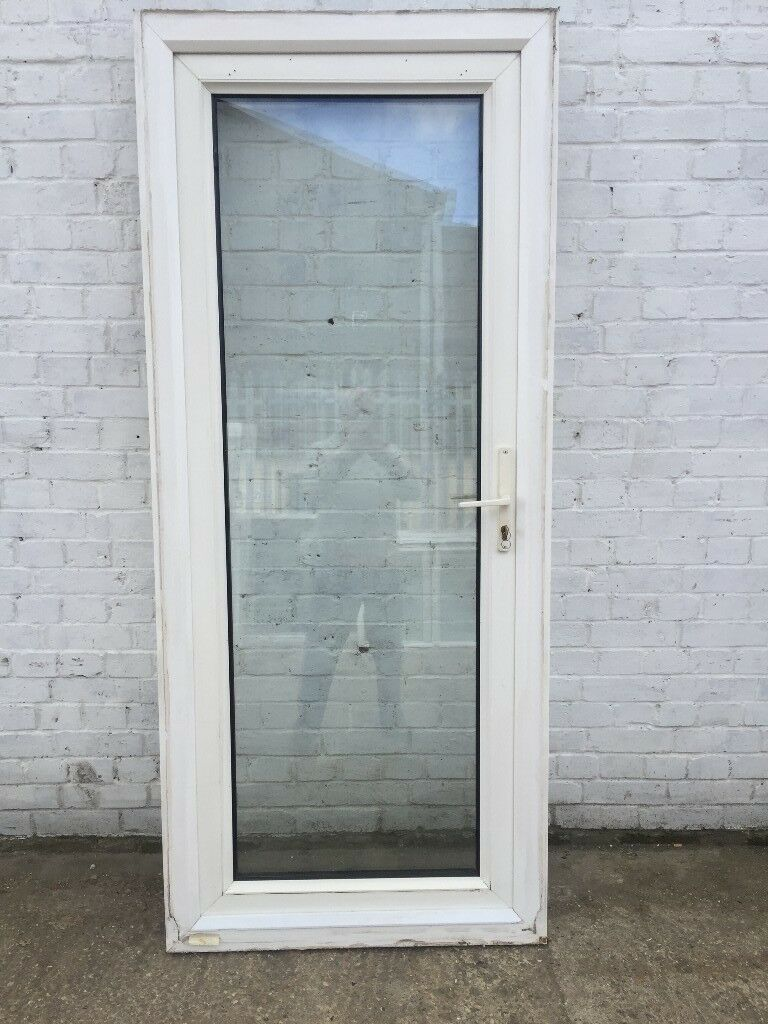 UPVC double glazed back/side door ( H: 208 cm, W: 89 cm) | in Aston ...