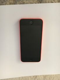 iPhone 5c in pink, immaculate condition, all working, including charger. No box!