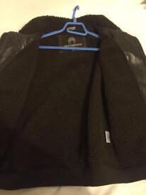 Teens leather jacket