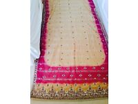 Pure georgette saree (never been worn)