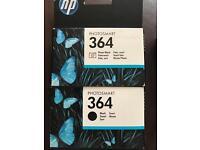 HP ink cartridges 364