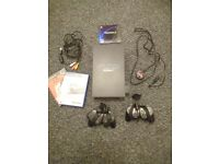Sony PS2 for sale and two games