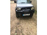 Suzuki jimny jlx, lifted off road ready recent serviced