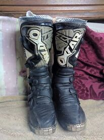 Oxtar TCX comp Motocross boots UK 7