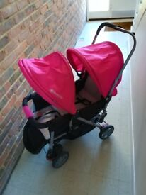 Buggy for two kids can be for twins or different ages.. Very useful in travelling