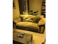 Brown DFS sofas, only 2 years old and great condition.