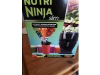 New Black Nutri Ninja Slim Blender