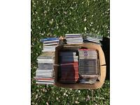 Box of classical music CD's