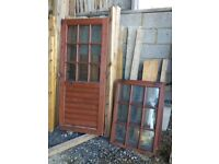 2 x doors for sale 1775mm x 745mm 3 x windows 955mm x 650mm Complete set for sale for just £50