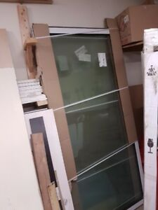 Brand new tall sliding patio door