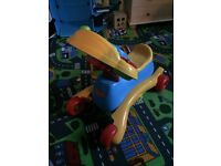 Kids ride on toys (push and electric)