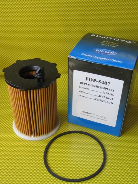 FT Peugeot 308 1.6 HDi Hatchback 109HP 2007-2012 Replacement Oil Filter