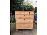 Two Old Pine Drawers
