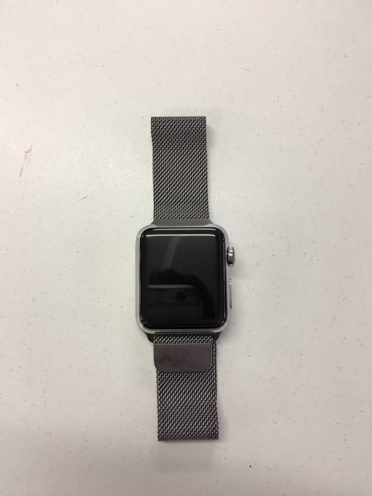 Apple watch 1. 38mmin Notting Hill, LondonGumtree - Apple watch 1. 38mm for sale, Stainless steel case, Sapphire screen, vey strong built, one of the nicest and elegant apple watches. It been used without any single problem, the body of the watch is nearly perfect, no scratches. The software works...