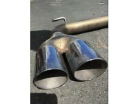 Stainless steel exhaust tail pipe for sale , in good condition.