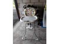 GRACO CHILD'S HIGHCHAIR IN EXCELLENT CONDITION
