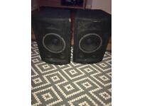 Pair Skytec Passive Speakers 150w