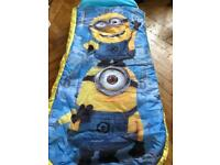 Readybed Minions Air bed and Sleeping Bag in One