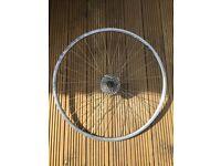 Road bike real wheel