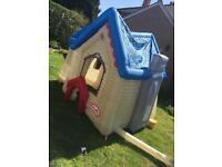 Little tikes inflatable play house
