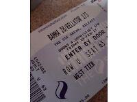 2x bamma tickets sse arena