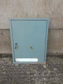 lockable metal cabinet