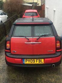 2009 mini clubman 1.6 petrol low mileage full service history