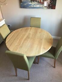 John Lewis Dining Table and 4 Chair