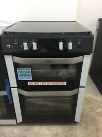 BRAND NEW BELLING FSDF60DOW 60CM GAS COOKER WITH DUAL FUEL OVEN & GRILL