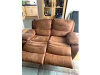 Brown sofa for collection