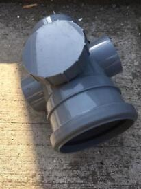 "Floplast soil pipe fitting ""never used"""