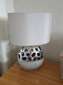 SILVER TABLE LAMPS 2 OF
