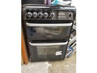 Cannon gas cooker with double oven