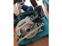 Makita 18v BRUSHLESS circular saw