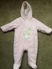 Baby snowsuit age 3-6 months from Mothercare