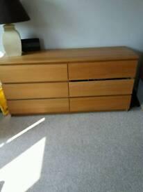 Ikea set of Drawers