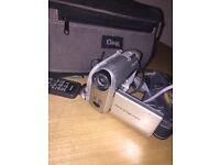 Old handycam camera