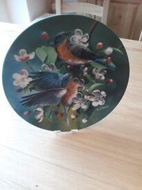 Birds of Your Garden Collection plates